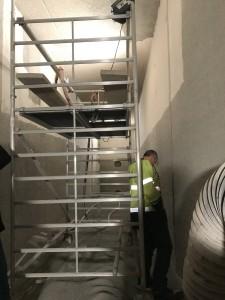 Abtragen der Beschichtung in den Wasserkammern1