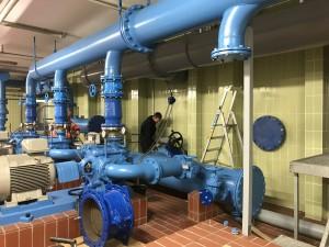Erneuerung der hydraulischen Anlage
